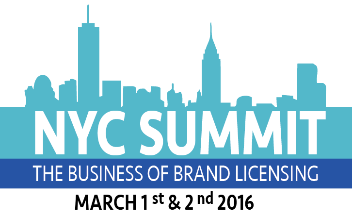 NYC Summit: The Business of Brand Licensing Developed by License! JUNE 2016