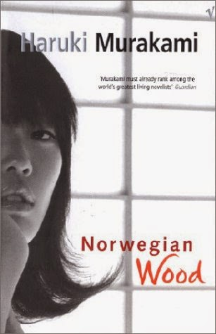 UK book cover of Norweigan Wood by Haruki Murakami
