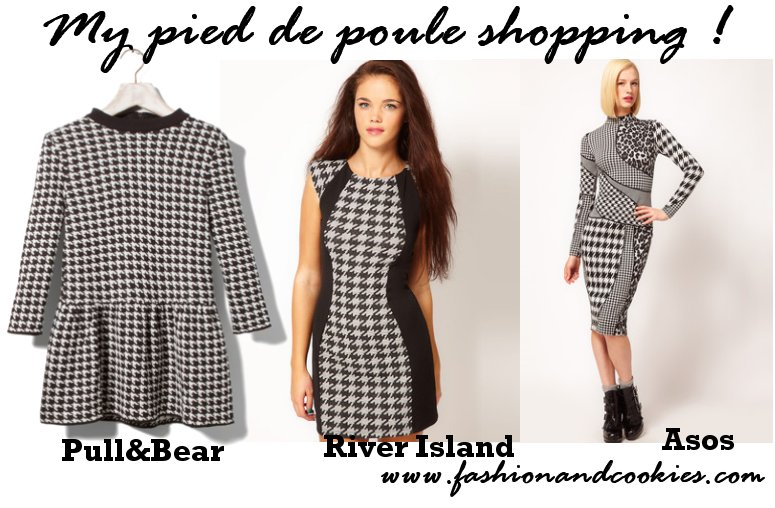 pied de poule trend - my purchases - www.fashionandcookies.com