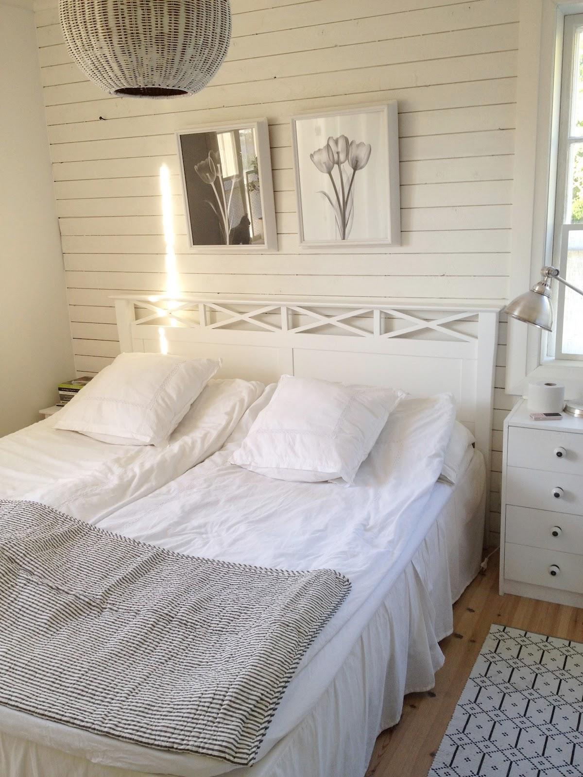 Vita drömmar och choklad: Soligt sovrum och Dagens