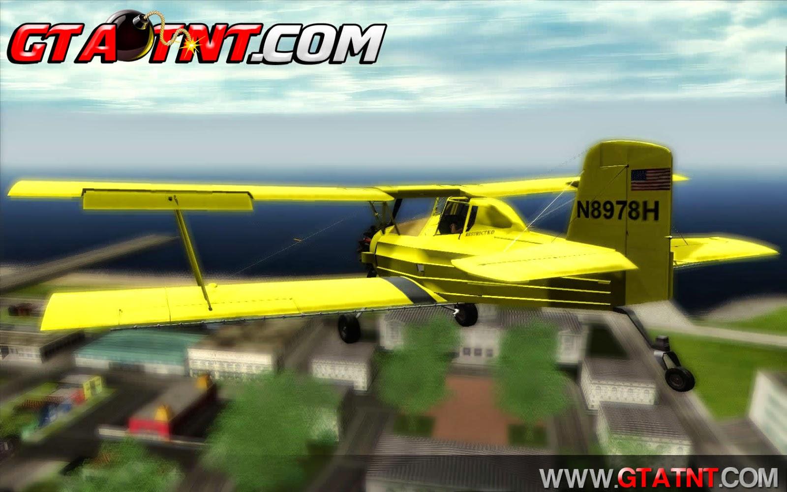 Grumman G-164 AgCat para GTA San Andreas