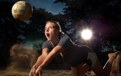 Beautiful Beach Volleyballer Girl 2013 Hd Desktop Wallpaper