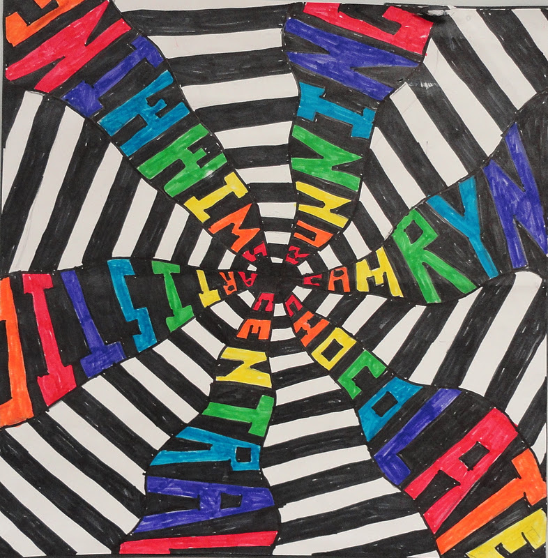 Sinking Springs Art Art And Math Sixth Grade Radial