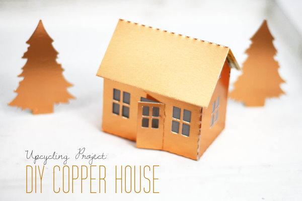 Upcycling Projekt: DIY copper house
