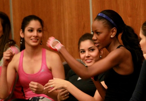 miss world 2011 sports try out audition