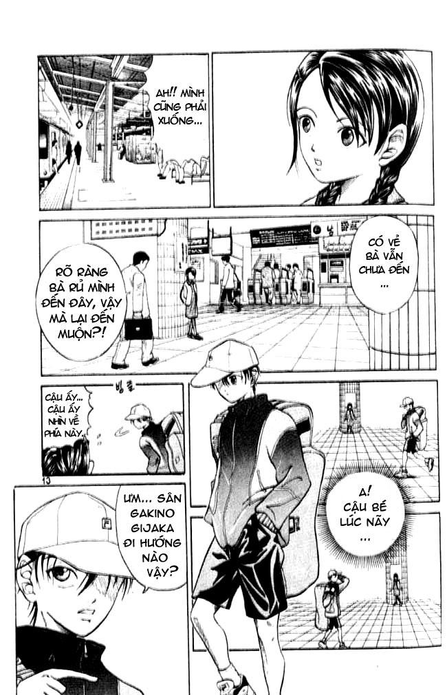 Hoàng tử Tennis Chap 1 - Trang 11
