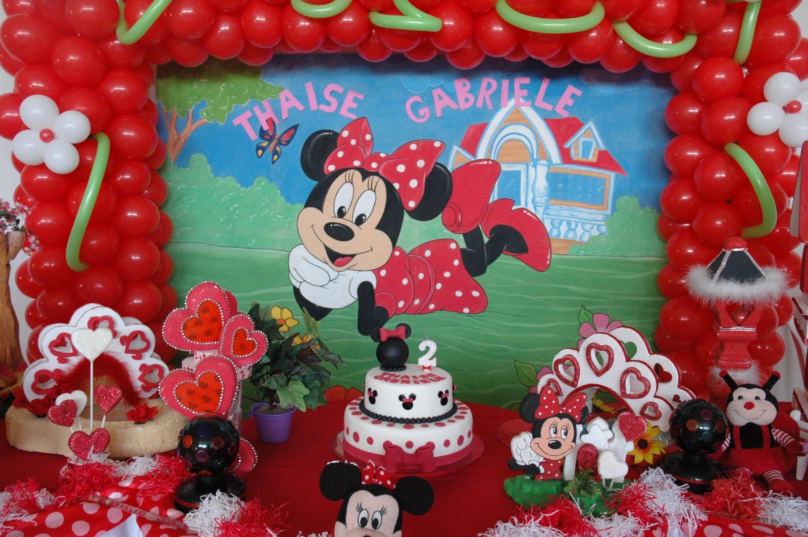 decoracao alternativa para festa infantil : decoracao alternativa para festa infantil:Fazendo Festa – decoração infantil e chá de bebê!: Bolo Minnie!