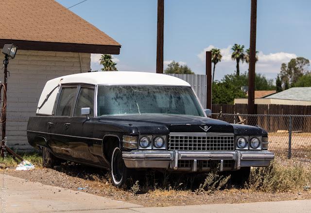 1974 Cadillac hearse