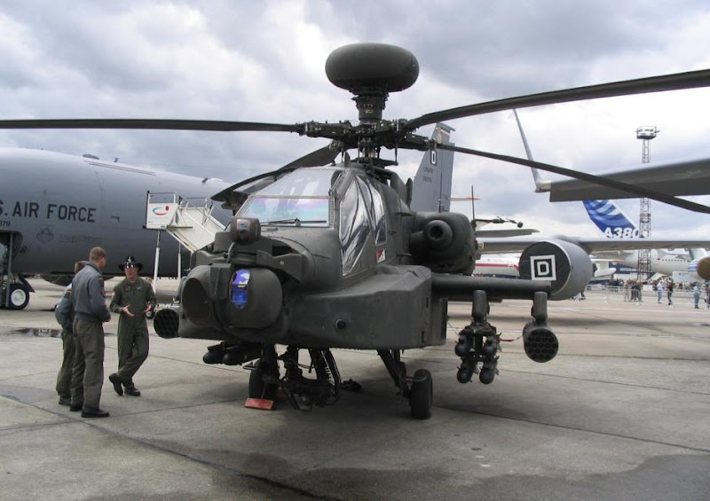 AH-64A Apache US Army Attack Helicopter