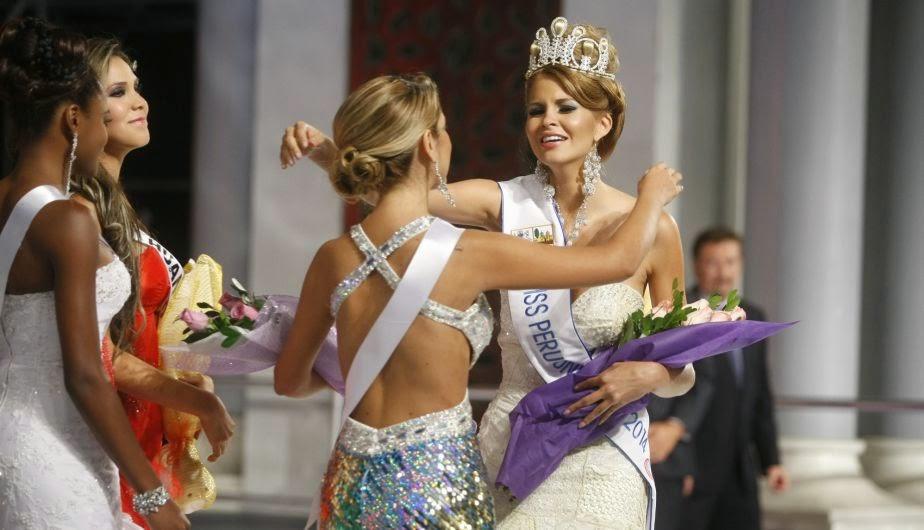Miss Peru Universo Universe 2014 winner Jimena Rumini Espinoza Vecco