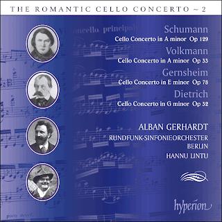 The Romantic Cello Concerto, Vol. 2 - Volkmann, Dietrich, Gernsheim & Schumann