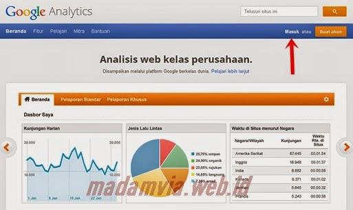 Cara Memasang Google Analytics Pada Blog Terbaru 2