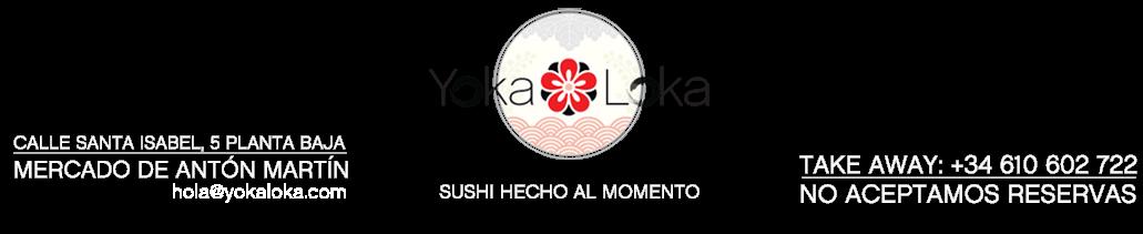 Sushi hecho al momento, ramen y especialidades de la cocina japonesa en el centro de Madrid.