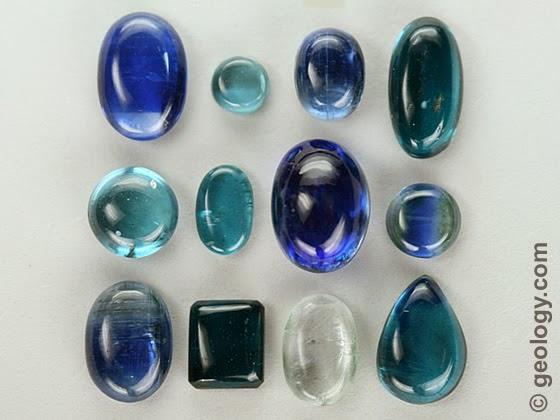 The many shades of pleochroic kyanite.