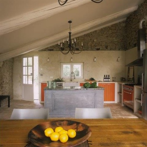 French country style kitchens for Country style kitchen b q