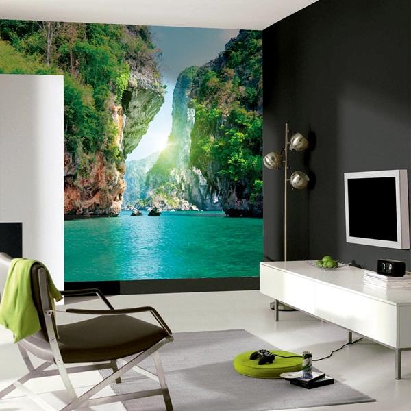 Papel pintado fotomurales naturaleza for Papeles pintados paisajes