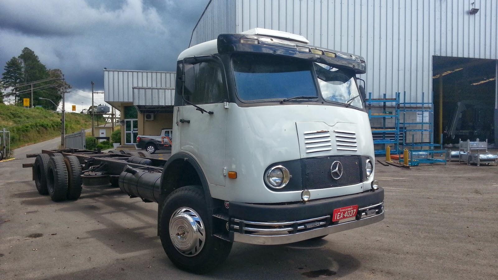 trucks brasil mercedes benz lp 321 1964. Black Bedroom Furniture Sets. Home Design Ideas