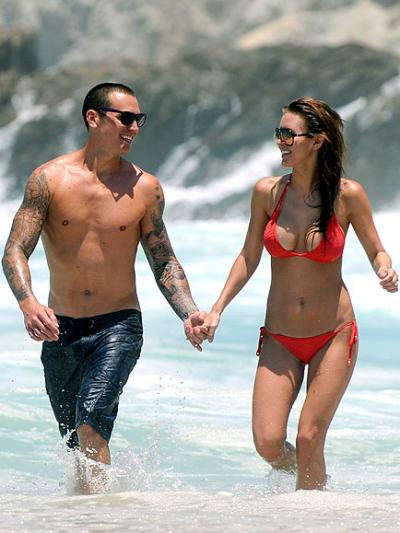Audrina Patridge With Boyfriend