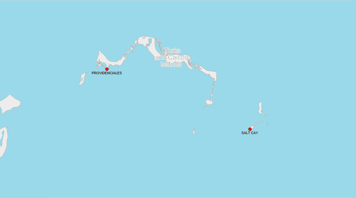 PORTS IN TURKS AND CAICOS ISLANDS
