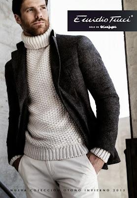 Xabi Alonso, Emidio Tucci, El Corte Inglés, Black Collection, Real Madrid,