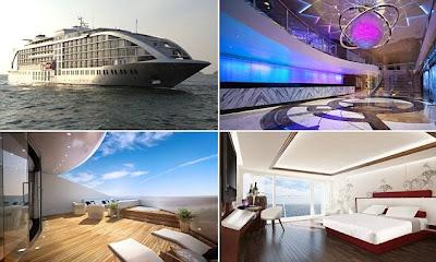 The Five-Star Gibraltar's Sunborn Yacht Hotel
