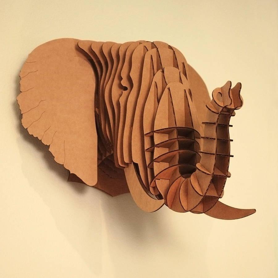 how to make a cardboard head