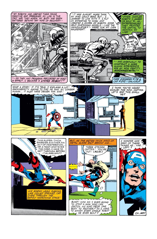 Captain America (1968) Issue #249 #164 - English 15