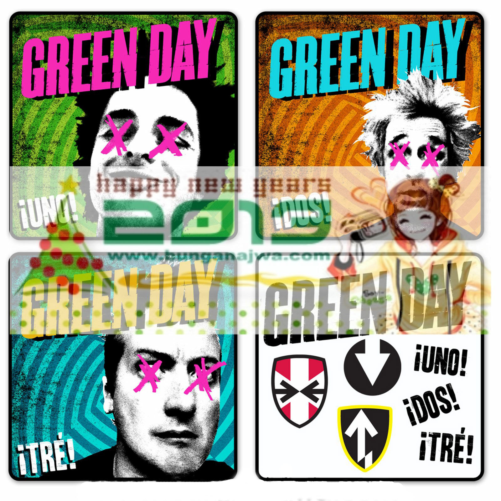 Green Day Uno Dos Tre Free Download