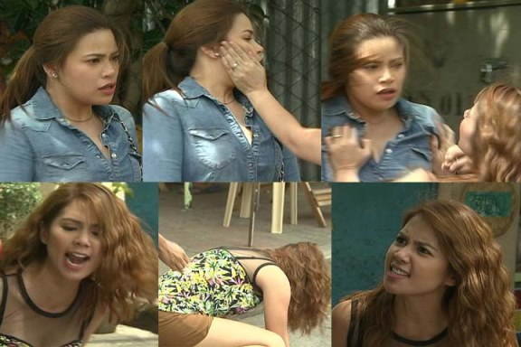 Kaye Abad and Denise Laurel Caught in a Brawl in 'Annaliza'