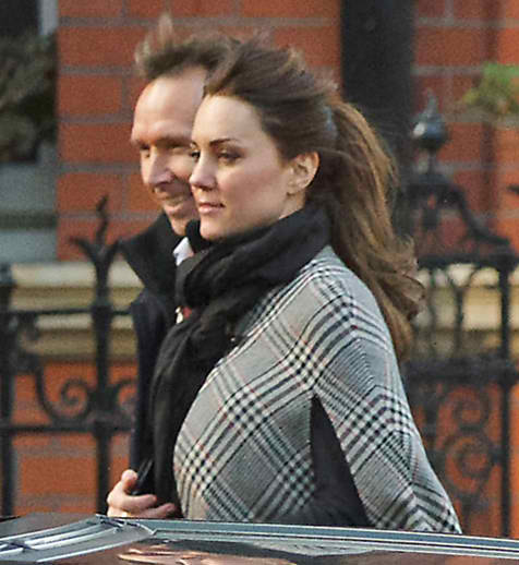 The Duchess of Cambridge Reveals Royal Baby Bump
