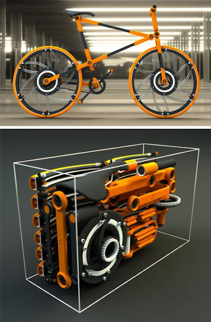 Cool Folding Bikes and Creative Folding Bike Designs (20) 7