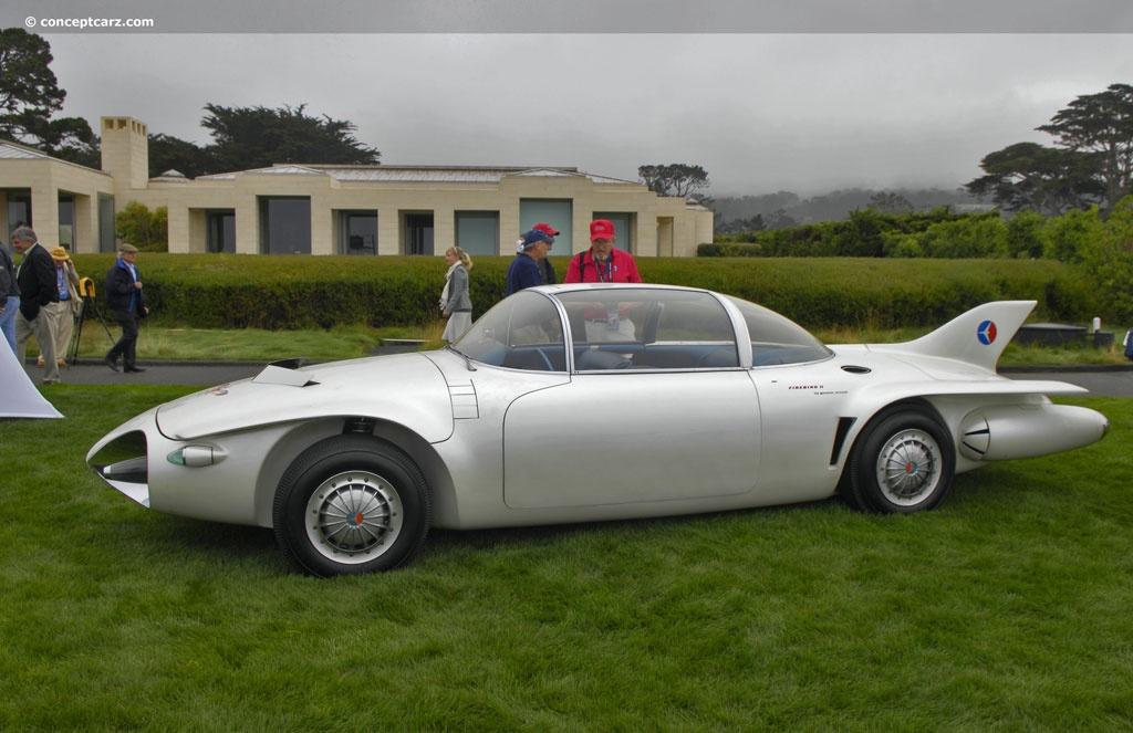 Daily Concept Cars The 1956 Pontiac Firebird Ii