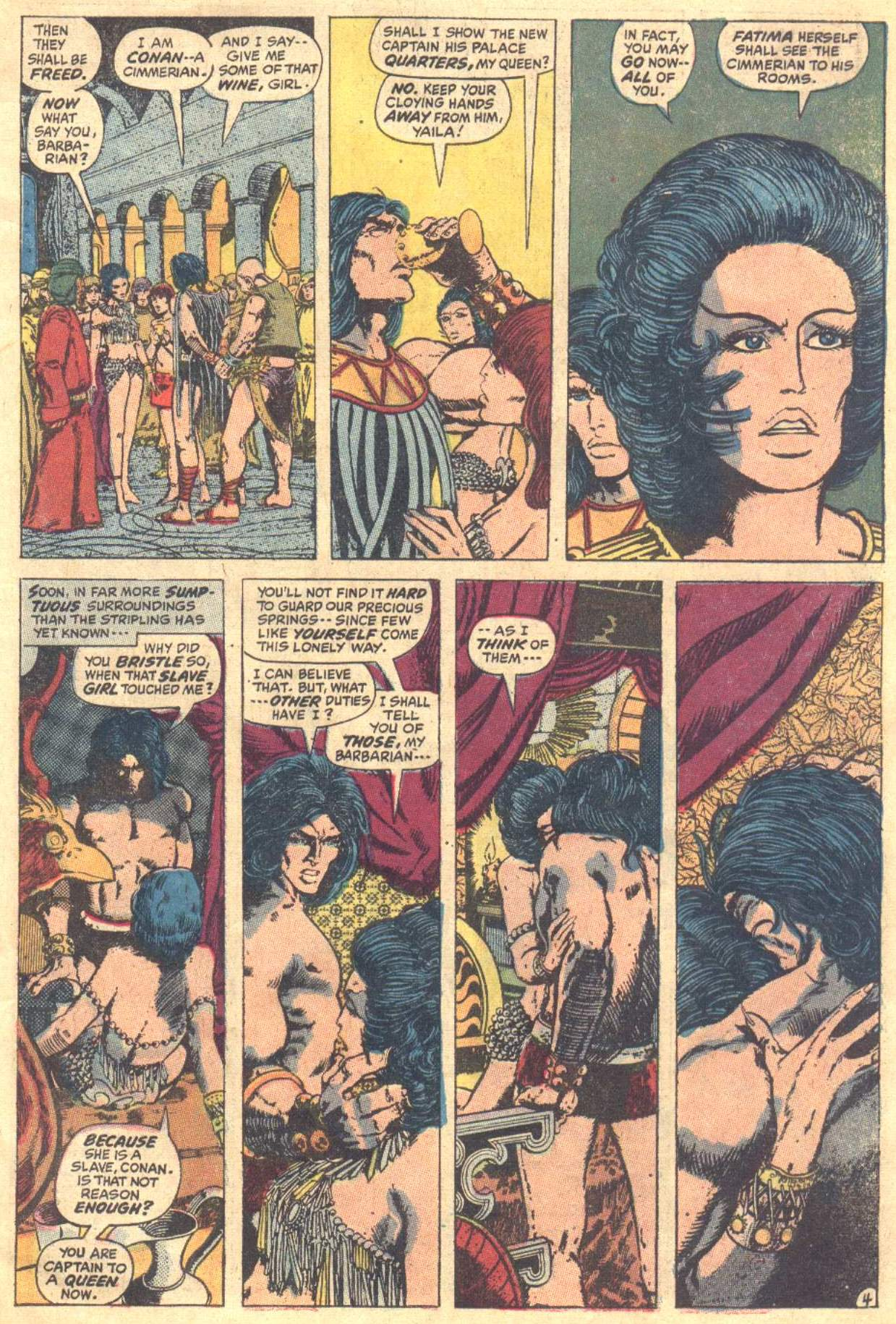 Conan the Barbarian (1970) Issue #12 #24 - English 5