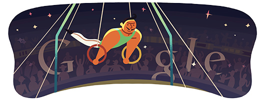 Google Doodles - Olympic Rings 2012
