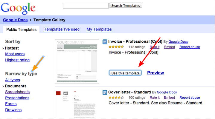 US Government Teachers Blog: Google Drive Templates
