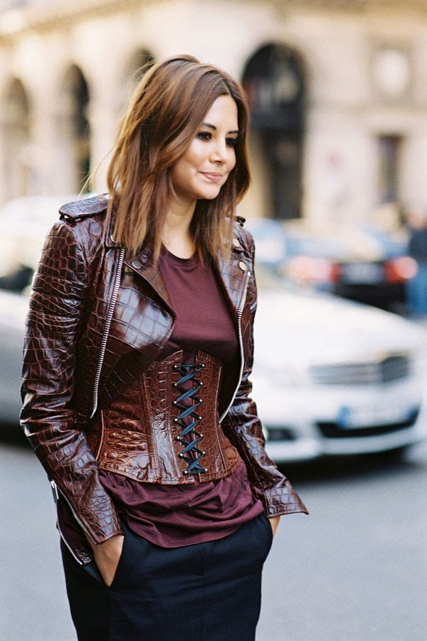 Vanessa Jackman Paris Fashion Week Aw 2015 Christine