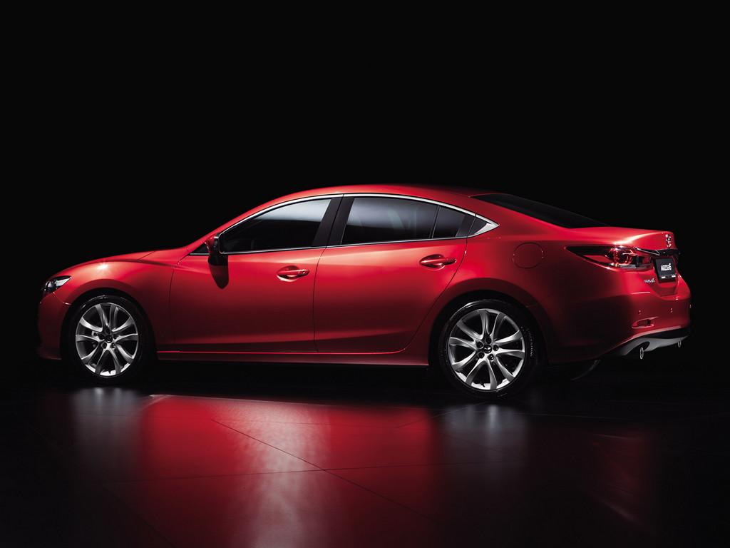 Mazda 6 sedan, nowa, 2013, japoński samochód, motoryzacja, Shinari, Kodo, piękny design, ładny, dusza