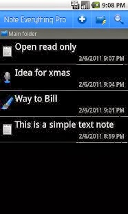 Note Everything Pro Android App