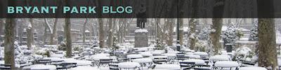 Bryant Park Blog