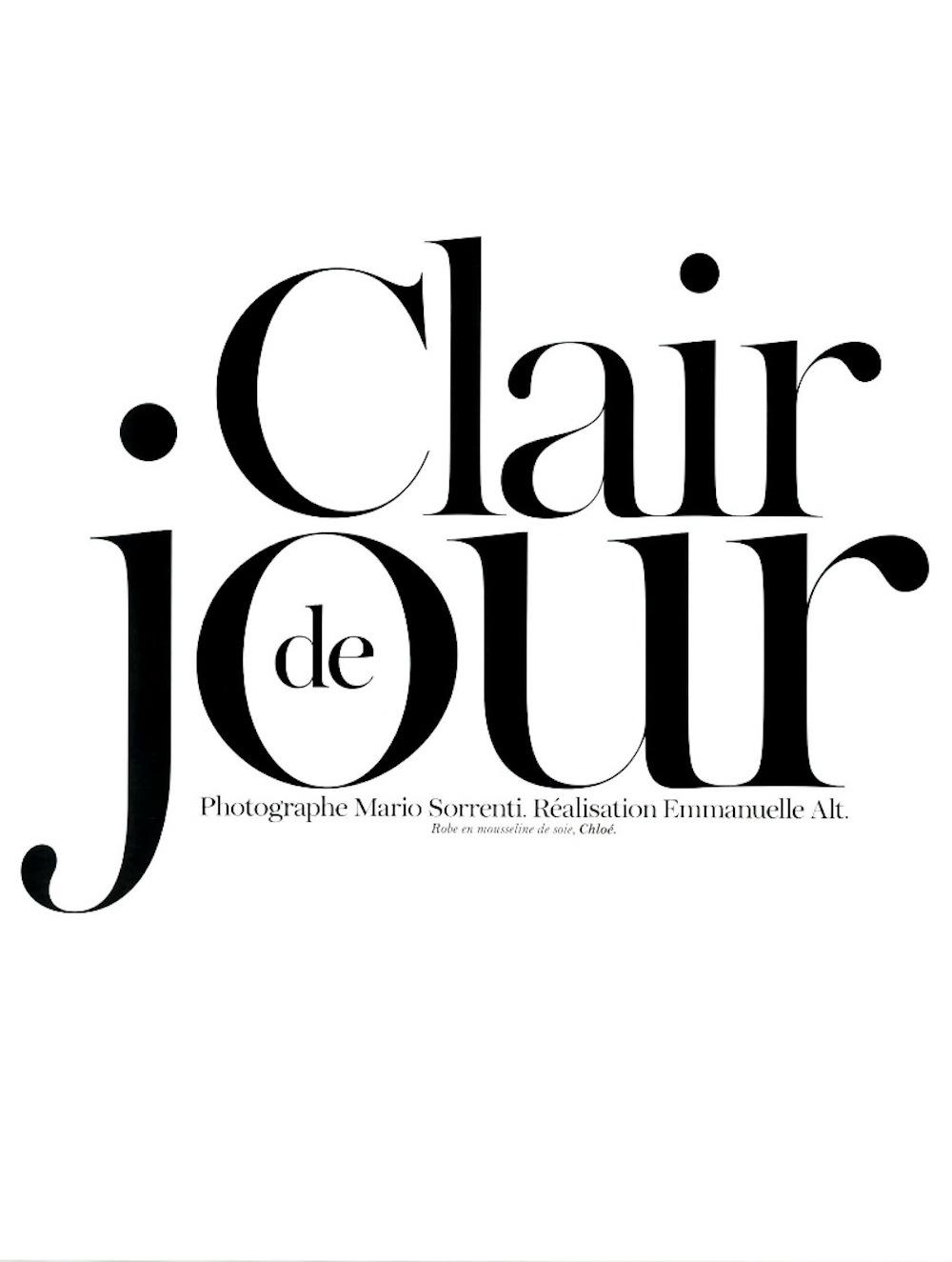 clair de jour natasha poly by mario sorrenti for vogue paris june july 2012 visual optimism. Black Bedroom Furniture Sets. Home Design Ideas