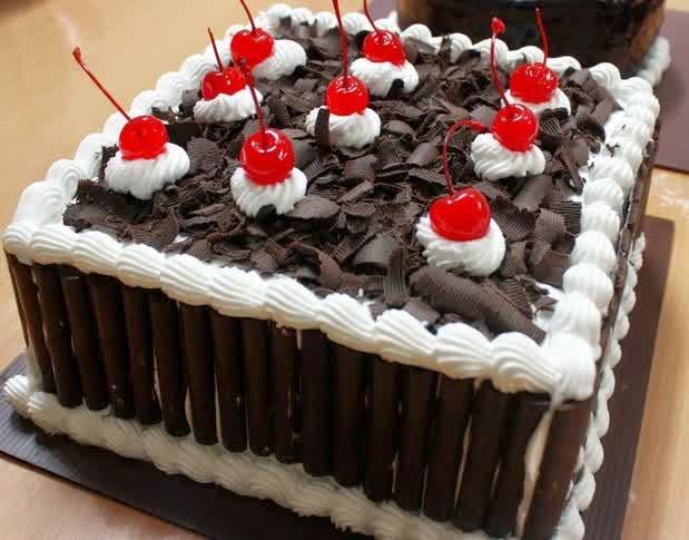 Resep Black Forest Coklat Susu Kukus