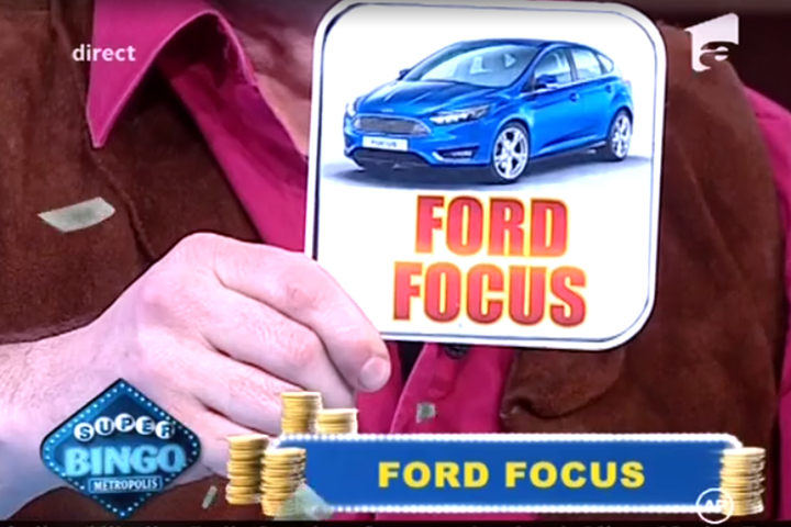 Super Bingo Metrolopolis ford focus
