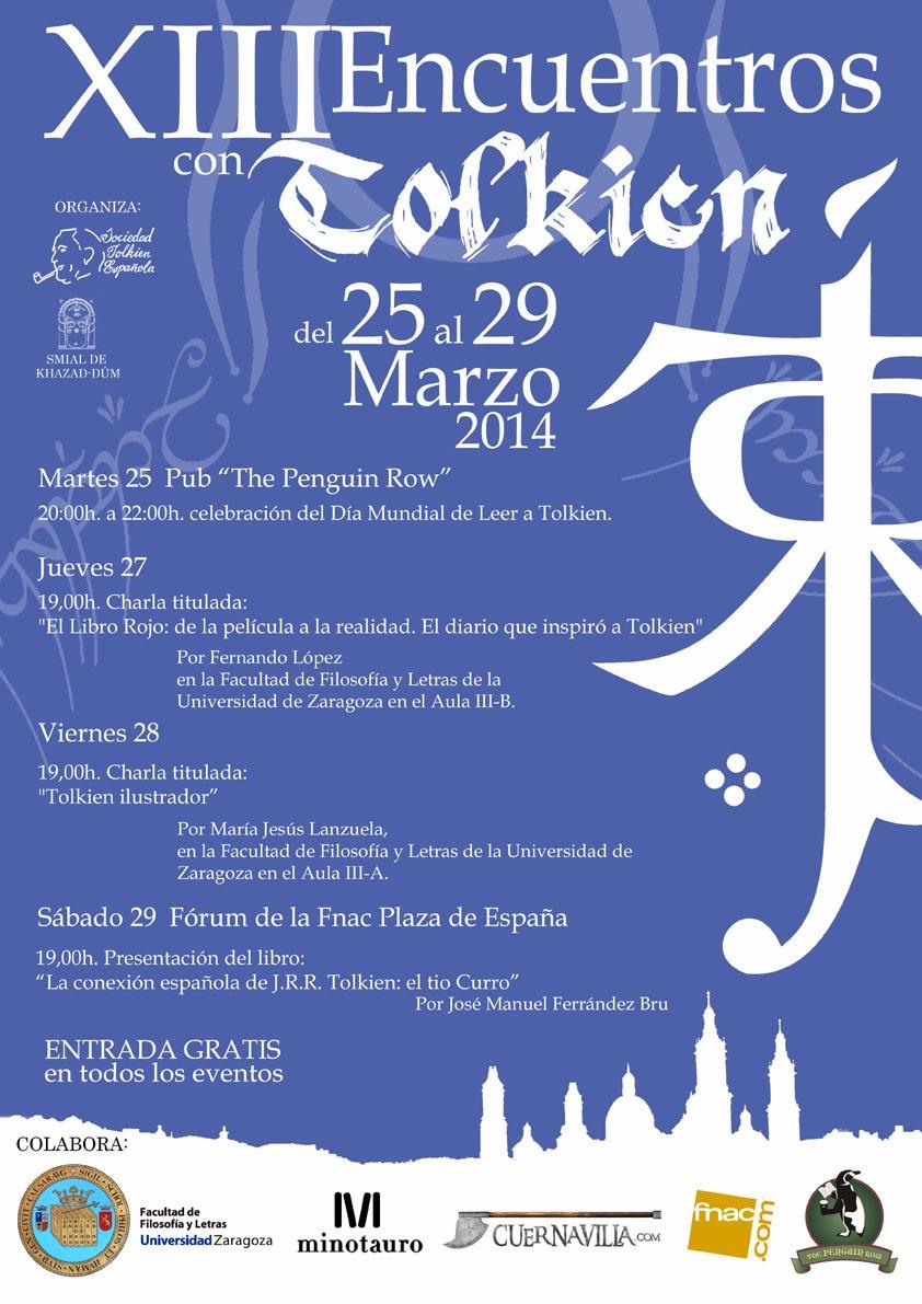 """""""XIII Encuentros con Tolkien"""" Marzo 2014"""