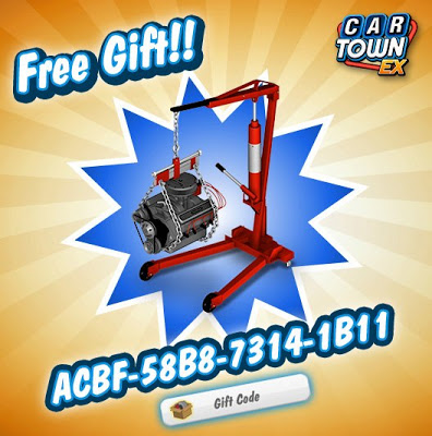 Car Town EX Gift Code Updated 2013 | Cheat3rz | Hack Game Online