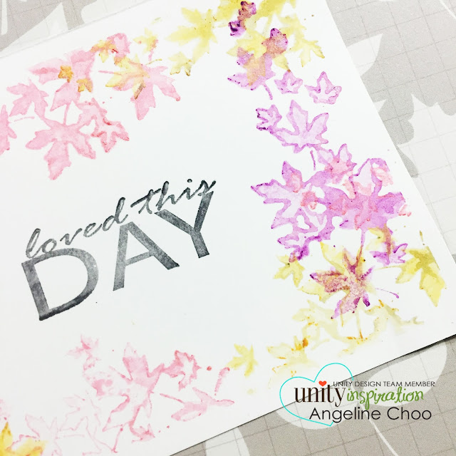 ScrappyScrappy: Loved this day #scrappyscrappy #unitystampco #fabercastell #gelatos #mixedmedia #card