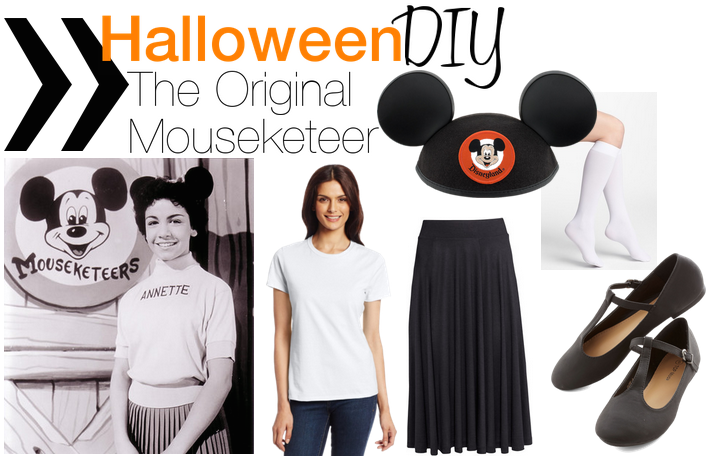 halloween, disney, mouseketeers, costume ideas, diy costume, diy