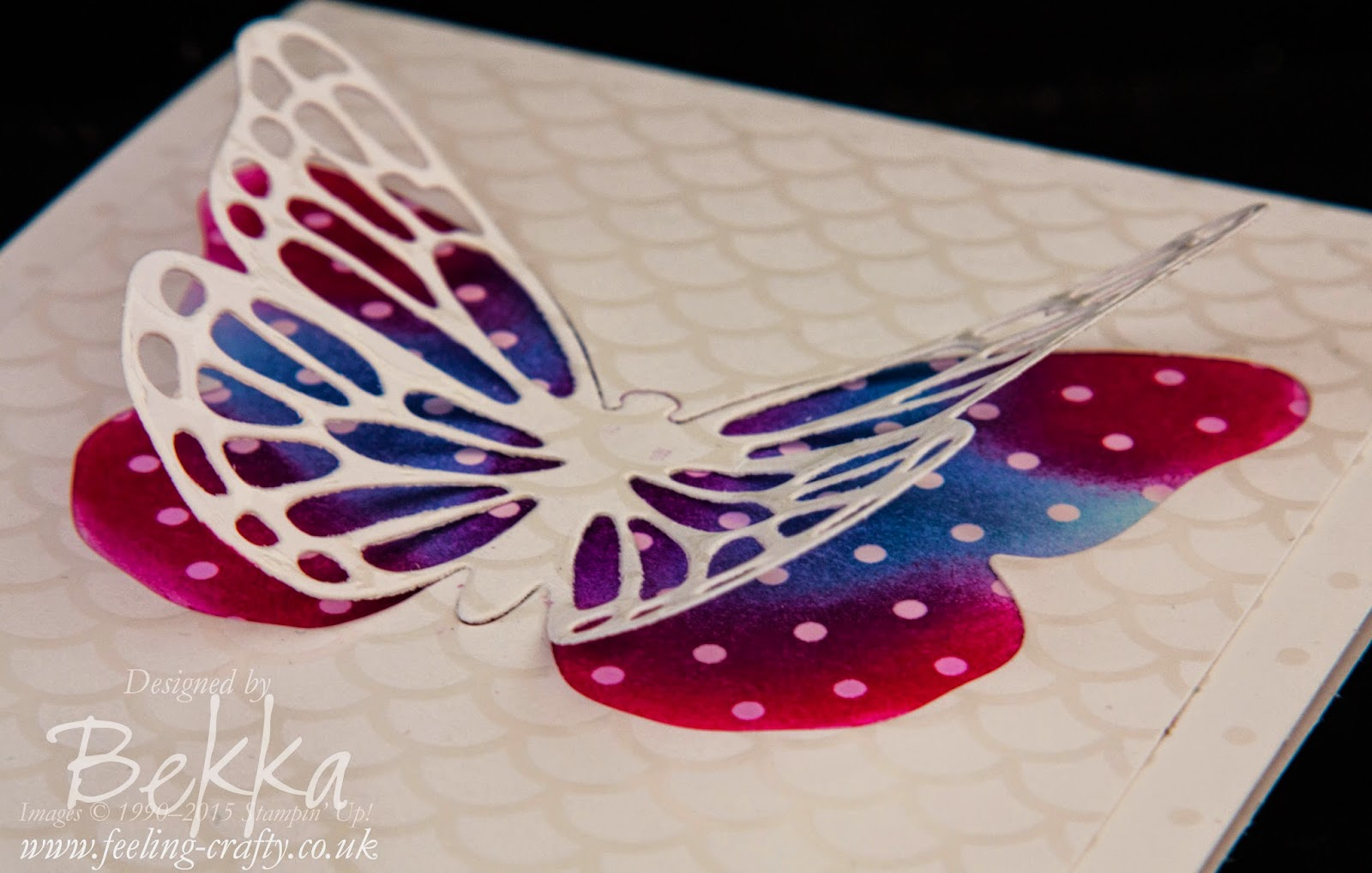 Irresistibly Yours Birthday Butterflies - check out this blog for lots of cute ideas