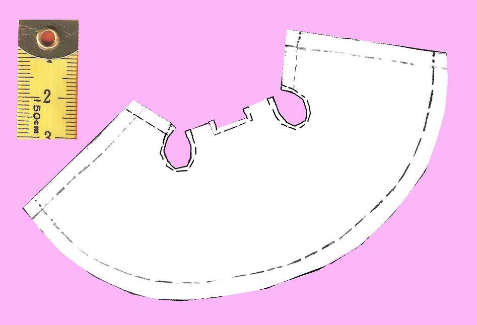 Sweet Faery Creations: ♡ Patrones: Vestiditos muñeca Mini-Ddung