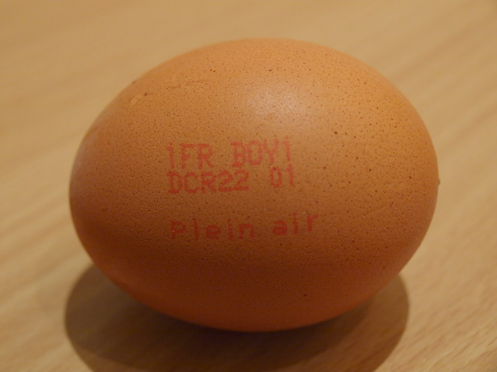 La casserole uf achat et conservation - Conservation des oeufs de poule ...