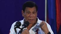 El presidente de Filipinas, a la Unión Europea: «Que os jodan»